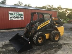 2012 New Holland L228 Skid Steer Loader W High Flow 2 Speed