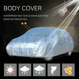 New Full Car Cover All Weather Uv Waterproof Fits For 1992 2004 2005 Honda Civic