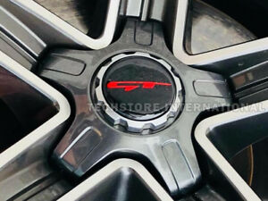 Gt Logo 18 19 Center Wheel Cap For 2018 2019 Kia Stinger Brembo Red