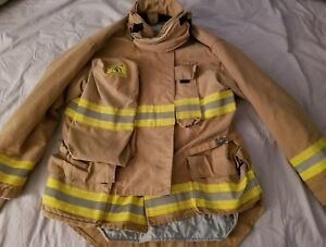 Morning Pride Fire Fighter Turnout Jacket Size 46 Great Condition Coat