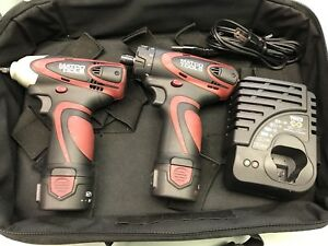 Matco Infinium Mcl1214r 1 4 Ratchet Mcl1214iw Impact Wrench 12v Mcl12ircombo