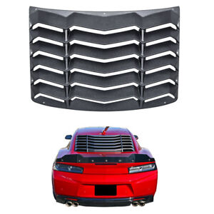 Rear Window Louver Scoop Cover In Gt Lambo Style Vent For Chevy Camaro 2016 2018