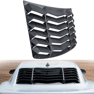 Rear Window Louver Sunshade Cover Scoop Vent Hardware For Chevrolet Camaro 16 18