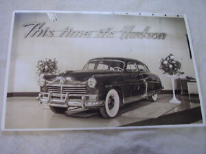 New 1948 Hudson In Showroom 11 X 17 Photo Picture
