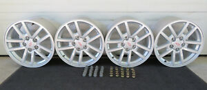 2000 2002 Chevy Camaro Ss Nos Rims Oem Gm 17x9 10 Spoke Wheels With Lugs 9593463