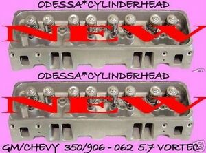2 New Fits Gm Gmc Chevy Escalade Suburban Vortec 5 7 350 906 062 Cylinder Heads