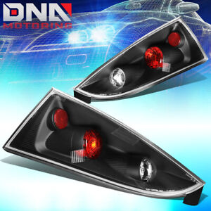 For 2002 2007 Ford Focus 5dr Wagon Black Altezza Style Tail Light Brake Lamps