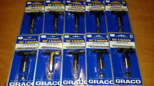 10 New Graco 286517 Rac 5 Reversible Switch Tip