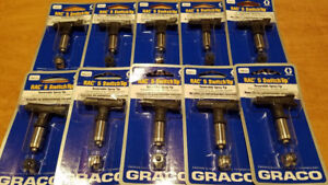 10 New Graco 286315 Rac 5 Reversible Switch Tip