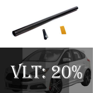 Uncut Roll Window Tint Film 20 Vlt 20 In X 10 Ft Feet Car Glass