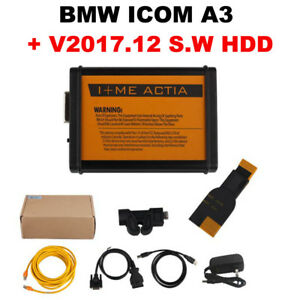 Bmw Icom A3 Obd2 Professional Diagnostic Tool Bmw 20pin Cable V2017 12 Hdd