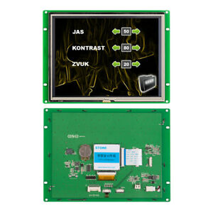 8 Touch Screen Keypad Module Stone Tft Lcd Touch Display