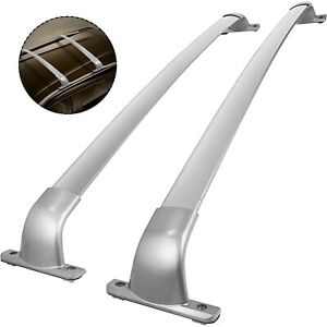 For 14 18 Infiniti Qx60 Jx35 Silver Roof Rack Cross Bar Luggage Carrier Bar Pair