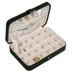 Jewelry Boxes Organizers Storage Earring Cufflink Case Gift New