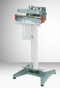 12 Foot Operated Impulse Bag Sealer W 2mm Seal Aie 300 Fl