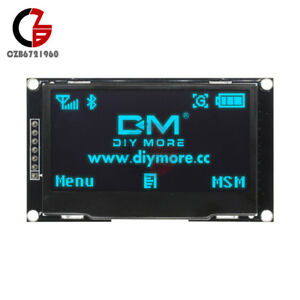 Blue 2 42 Inch Oled Display Ssd1309 128x64 Spi iic Serial Port For Arduino C51