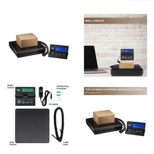 Postal Scales Digital Shipping And Weight Scale 110 Lbs 0 1 Oz Ups Usps Office