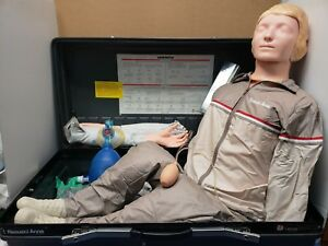 Laerdal Resusci Anne Training Manikin Skill Trainer Emt cpr Training In The Box