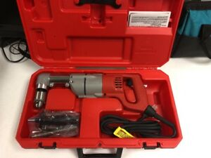 Milwaukee 1107 1 1 2 Heavy Duty Two Speed Right Angle Drill W case