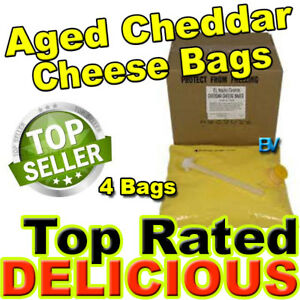 Gold Medal El Nacho Grande Aged Cheddar Bag Cheese 4 Bags 140 Oz Each