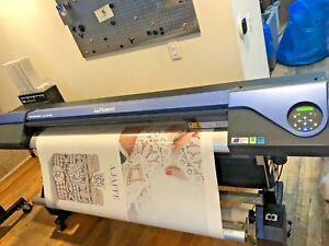 Roland Versacamm Vs 640 64 Wide Format Printer cutter With Take Up Reel
