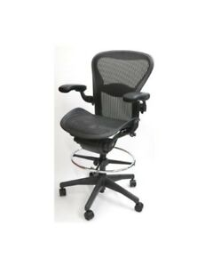 Herman Miller Aeron Stool Size B All Features Adjustable Lumbar