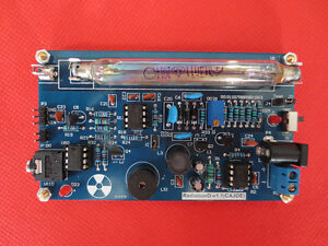 Assembled Diy Kit Nuclear Radiation Detector Geiger Counter Gm Tube Ray