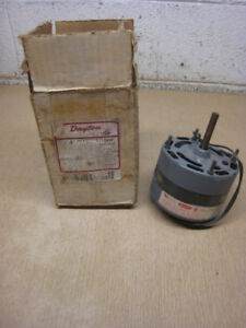 New Dayton 3m569 Hvac Motor 1 15 Hp 1550 Rpm 115v Free Shipping