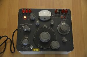 General Radio Company Megohm Bridge Type 1644 a Serial No 646 Usa