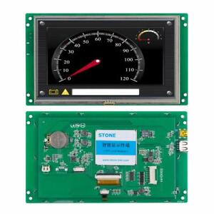 7 Industrial Control Stone Tft Lcd With Touch Control Board With Touch