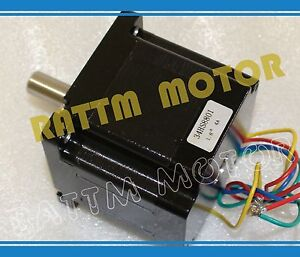 Nema34 78mm Cnc Stepper Motor 4 0a 508 Oz in Stepping Motor For Cnc Router Mill