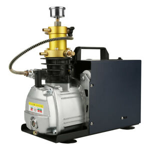220v 40mpa Water Cooled Electric Pcp Air Compressor 4500psi High Pressure Pump