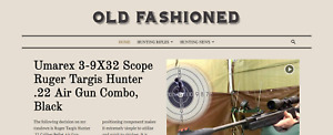 Established Hunting Rifles Niche Affiliate Turnkey Business Website