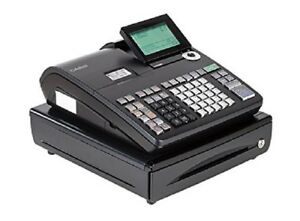 Casio 1sheet Thermal Cash Register W 10 line Lcd Cashier Display Model Pcr t500