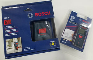 Bosch 100 Laser Measure 30 Self Leveling Combo Kit 2 tool Glm 30 Gll 2