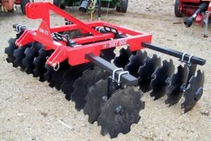 New Dirt Dog Hd 8ft 3 Point 200 22 Disc Harrow can Ship Very Inexpensive