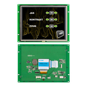 Stone Smart 8 Inch Tft Lcd Module And Panel Controller With Uart Port