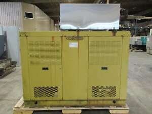100kw Katolight N100frf4 Natural Gas propane Standby Generator Running Take