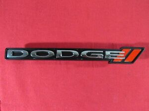 Dodge Charger Honeycomb Grille Stripe Dodge Emblem Badge New Oem Mopar