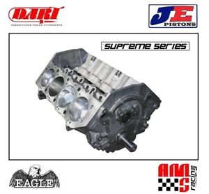 Ams Racing Supreme Series 565 Ci Bbc Dart Forged Stroker Short Block Je Pistons