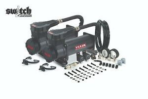 Viair Dual Black 485c 200 Psi Air Compressor Kit Gen 2 Lower Decibel