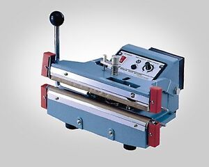 12 5 Mm Seal Heavy Duty Manual Double Impulse Sealer Aie 305hd