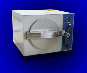 20l Commercial Steam High Pressure Autoclave Sterilizer Tattoo Dental 1 5kw 110v