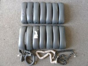 Lot 14 Cisco Handset Gray 7911g 7970 7960g 7961g 7912g 7960 7940 7912 Led Grey