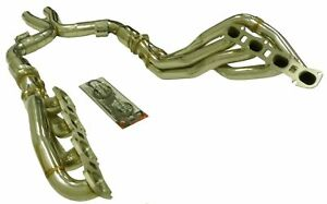 Obx Long Tube Header W Cats For 11 13 Ford Shelby Gt 500 5 4l 5 8 L Supercharged