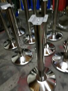 100 Best Gumball Machine Stand Made Polished Stainless Steel Wholesale Free Ship