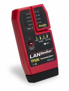 Platinum Tools Tp500 Lanseeker Cable Tester