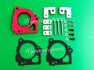 Red Throttle Body Spacer Fits 1999 2000 2001 2002 Jeep Grand Cherokee 4 7l