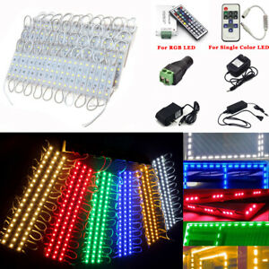 10-250FT SMD5050 3LED Module STORE FRONT Window Light For Sign Letters Waterproo
