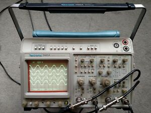 Tektronix 2465a Dmm Four Channel 350 Mhz Oscilloscope Refurbished Works Great